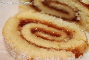 Rotolo Pan di Spagna Farcito