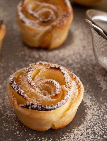 Roselline mele ricette con pasta sfoglia