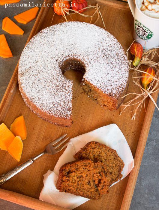 Pumpkin spice latte cake torta zucca