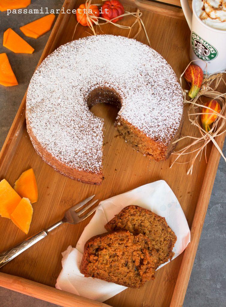 Pumpkin spice latte cake torta di zucca passami la ricetta for Cosa vuol dire forno statico