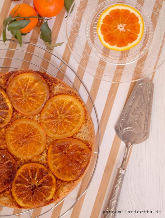 Torta arance caramellate