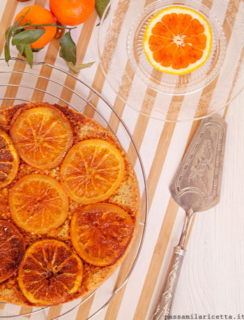 torta arancia e mandorle senza burro