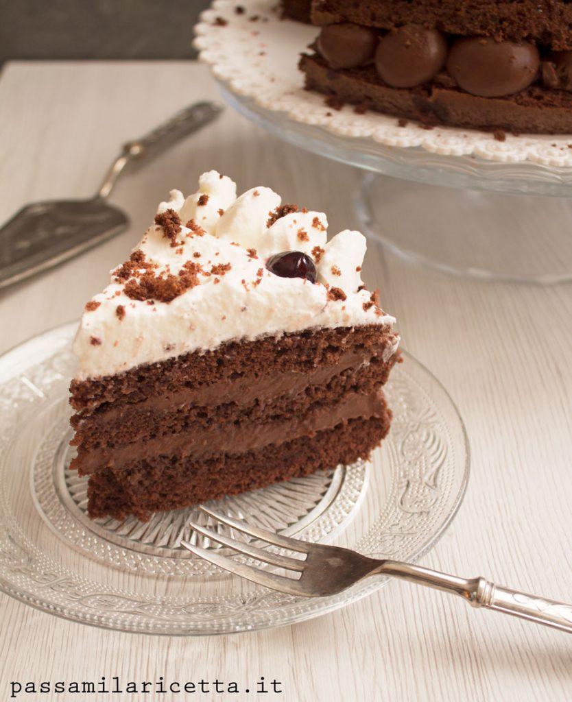 torta foresta nera ricetta facile
