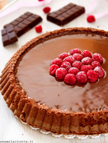crostata morbida cioccolato torta lindt