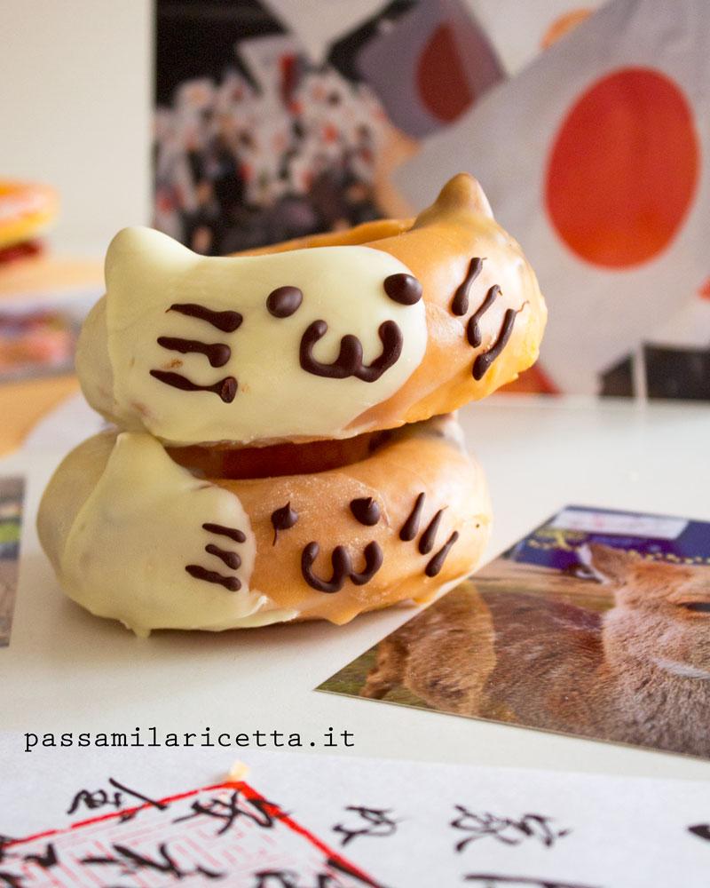cat donuts ciambelle soffici al forno a forma di gatto