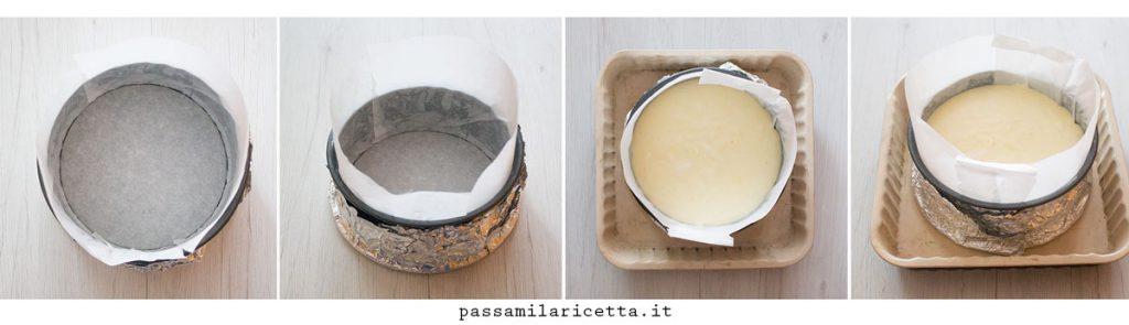 cheesecake giapponese procedimento