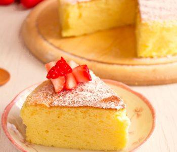 cheesecake giapponese ricetta