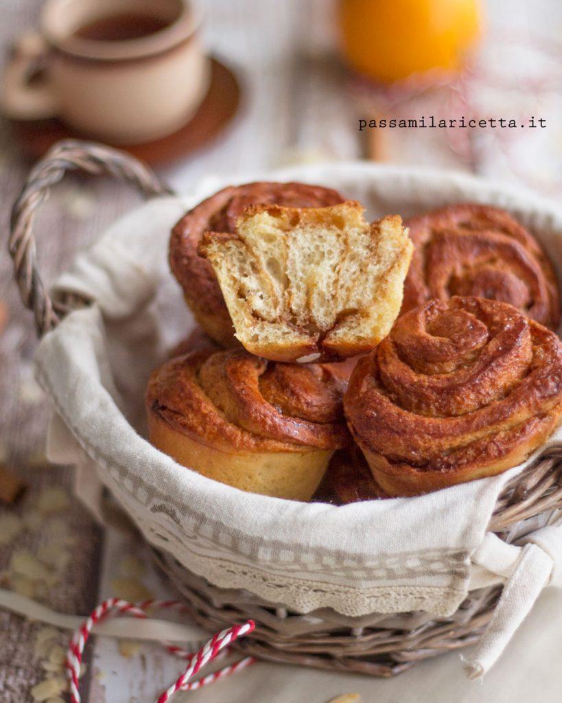 morning buns girelle arancia e cannella