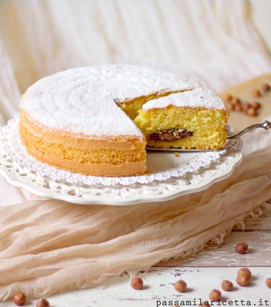 torta alla nutella soffice facile veloce