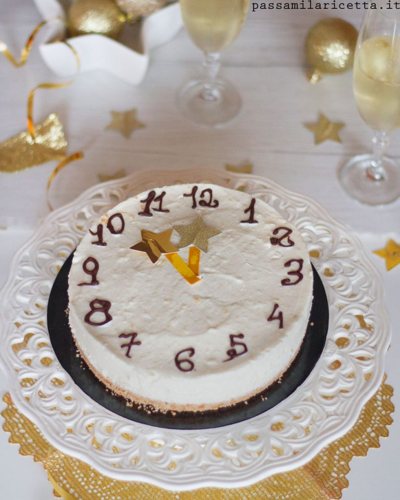 cheesecake allo spumante dolce di capodanno