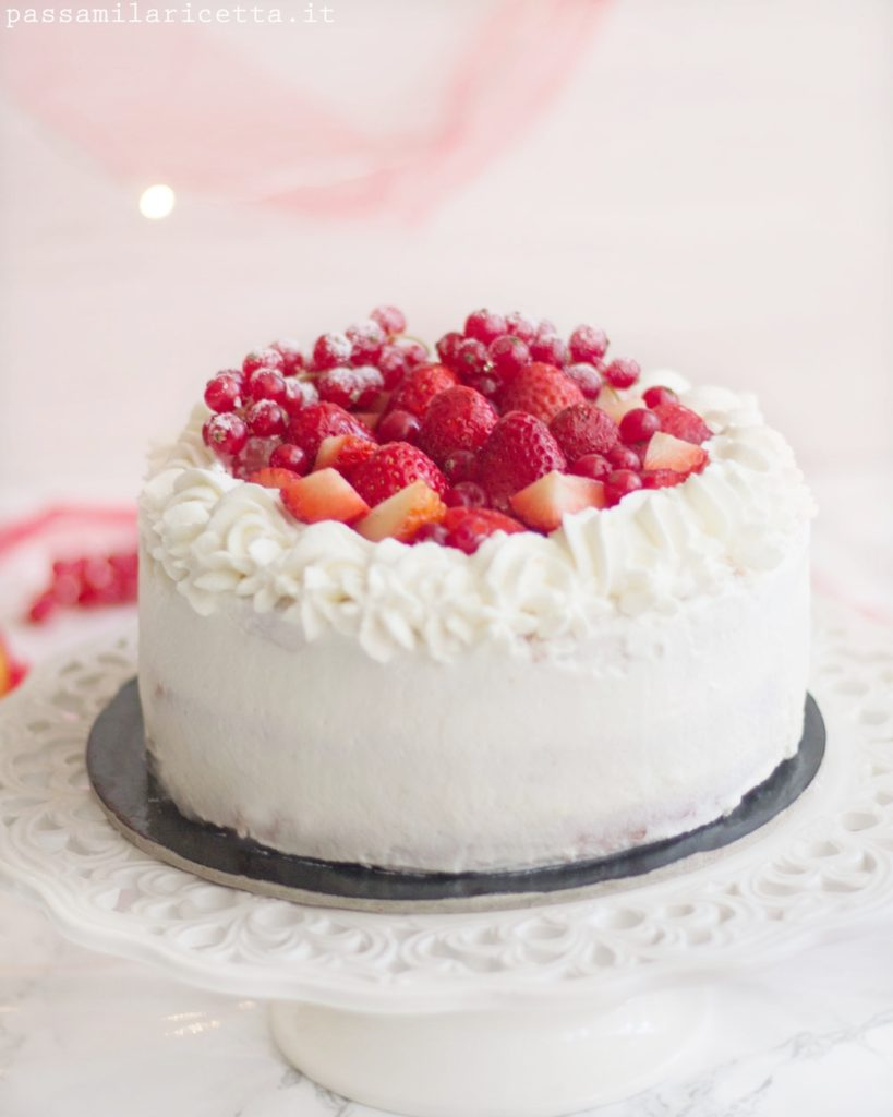 torta panna e fragole torta di natale giapponese