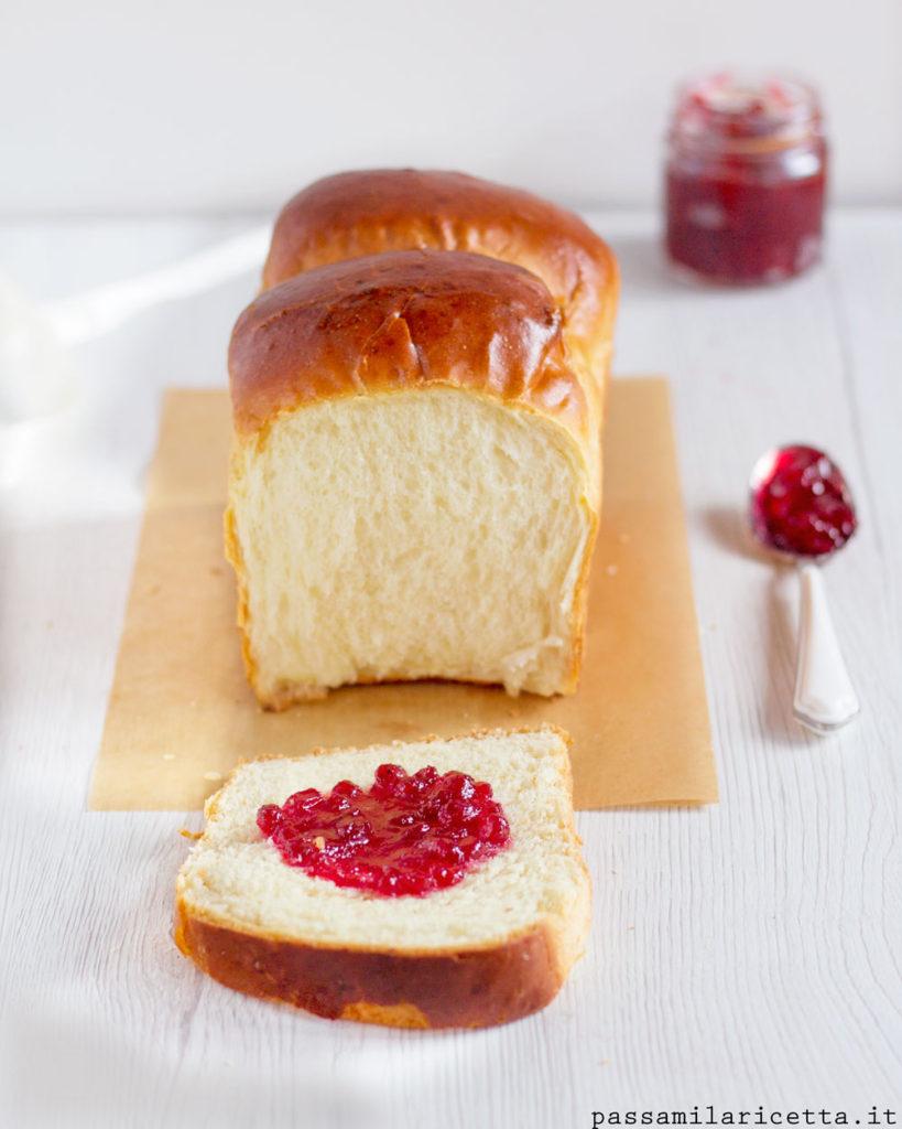 hokkaido milk bread pane al latte sofficissimo