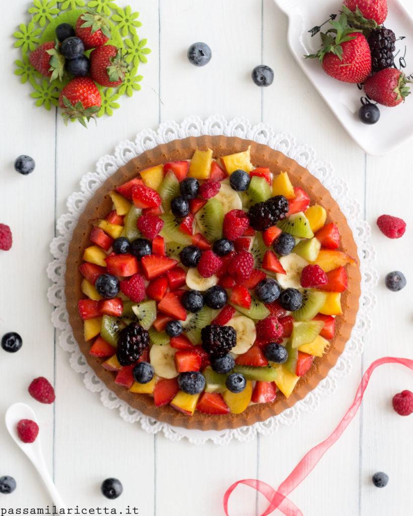 crostata morbida alla frutta con stampo furbo