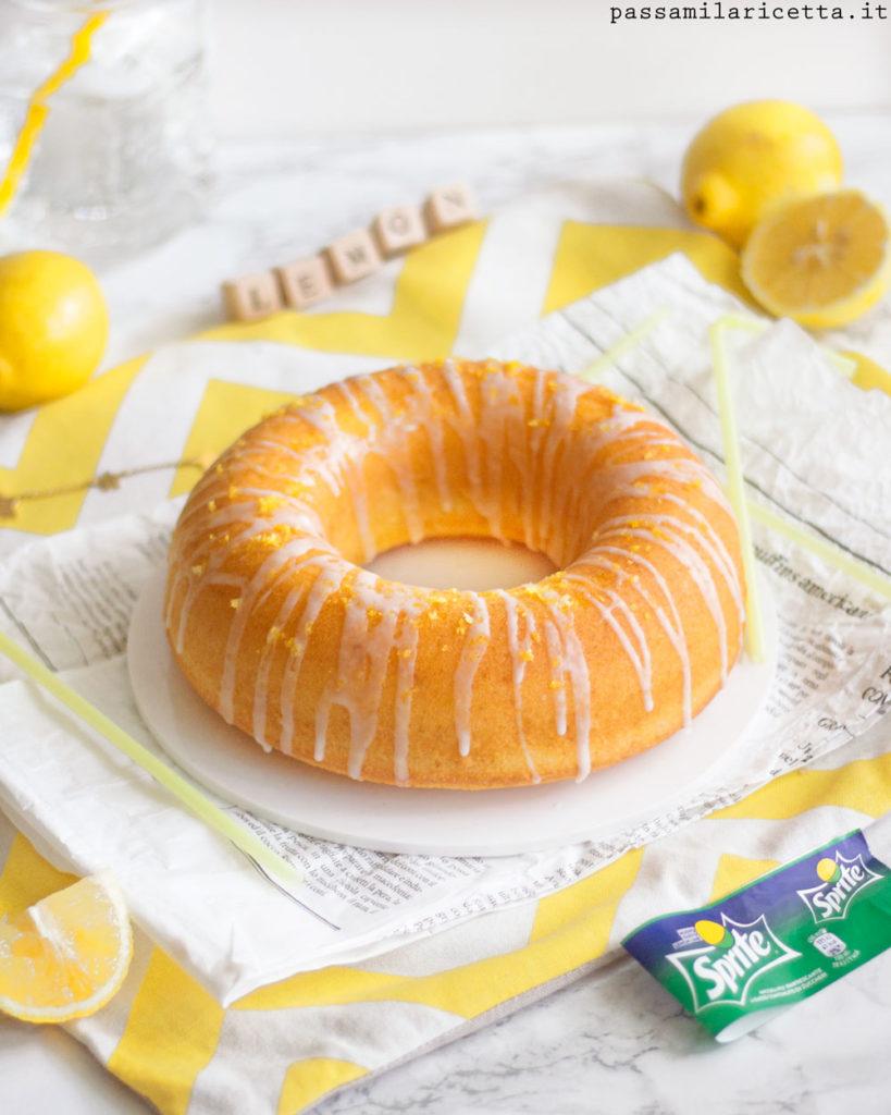 sprite bundt cake torta alla gassosa