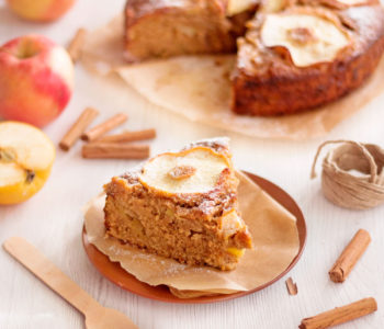 torta di mele vegan senza uova e burro