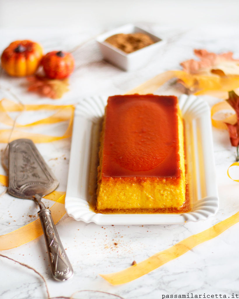 kabocha purin creme caramel alla zucca