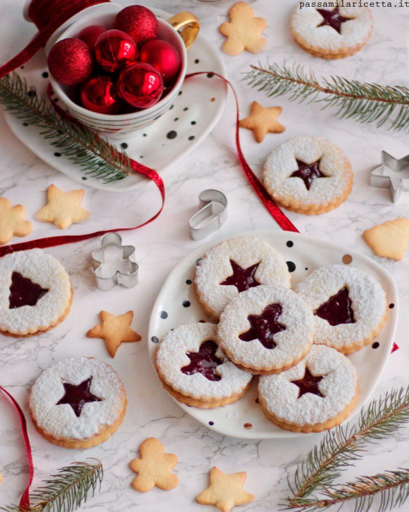 Biscotti Di Natale Tirolesi.Spitzbuben Biscotti Natalizi Tirolesi Passami La Ricetta