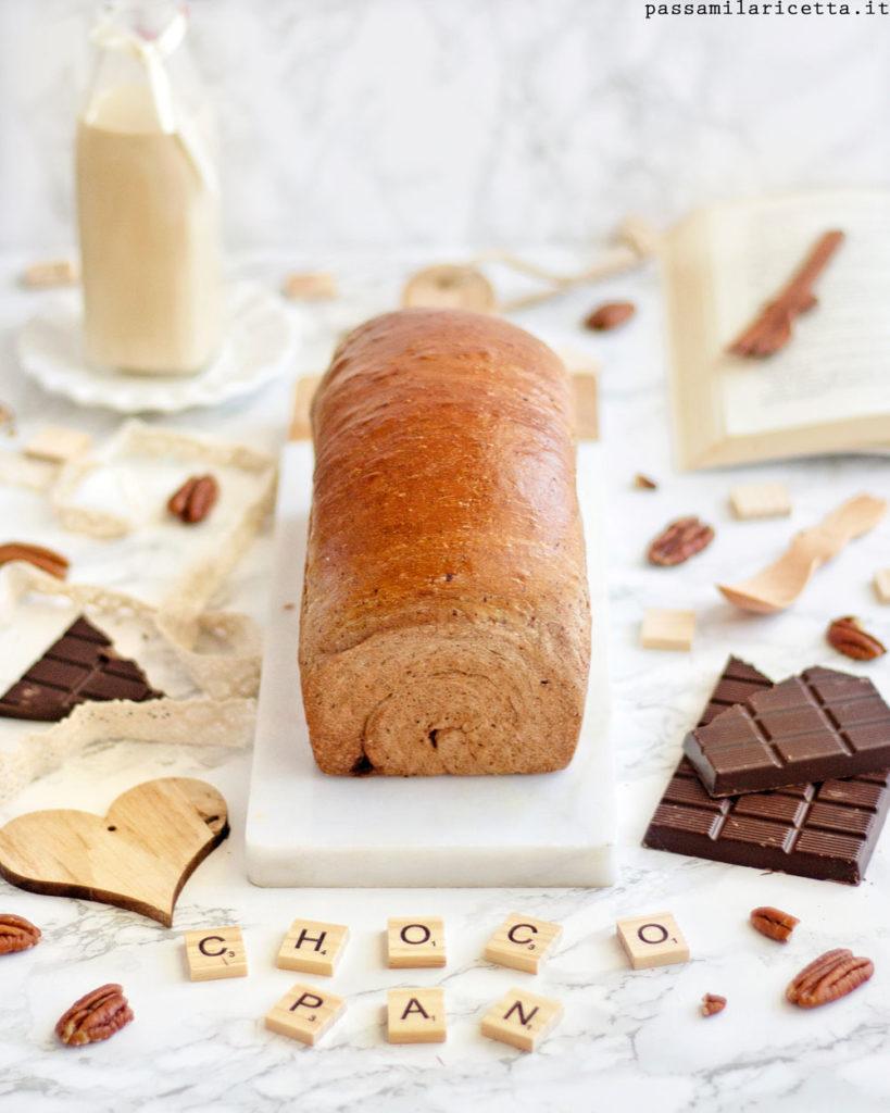 choco swirl bread pan bauletto al cioccolato