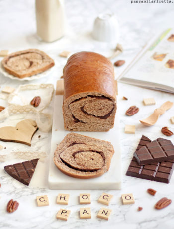 choco swirl bread pan bauletto al cioccolato