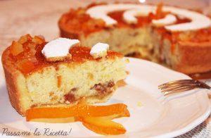 Fetta torta arancia Massari