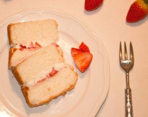 Fetta Angel Food Cake