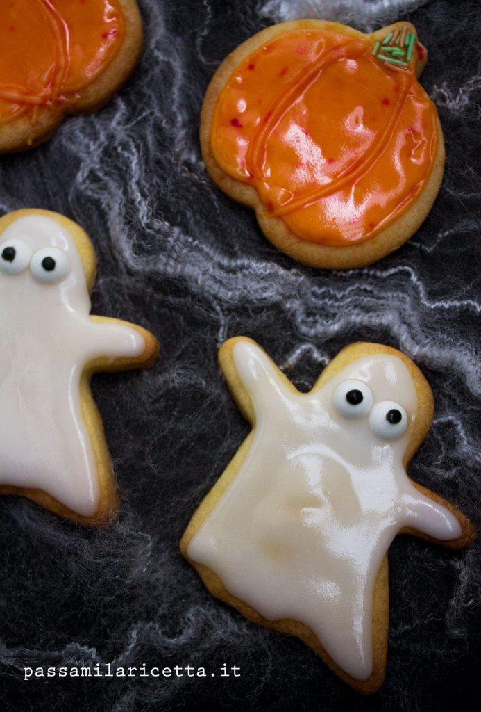 biscotti halloween decorati