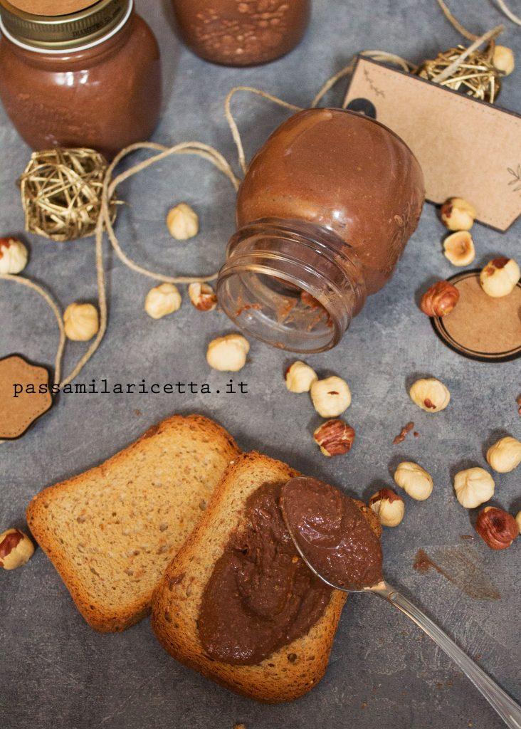nutella crema spalmabile nocciole