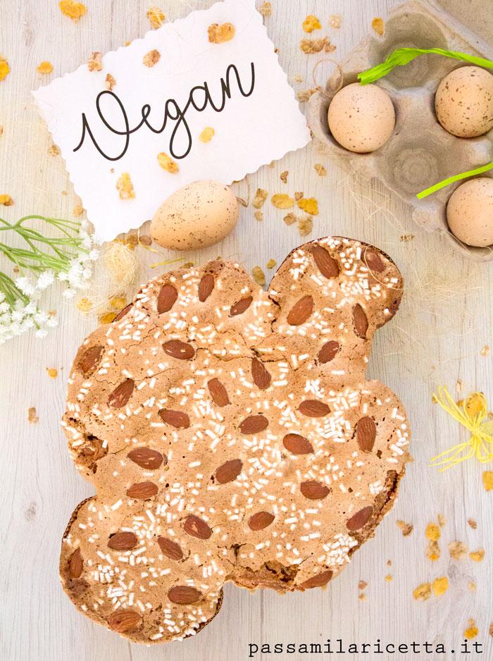 colomba di pasqua vegana ricetta facile