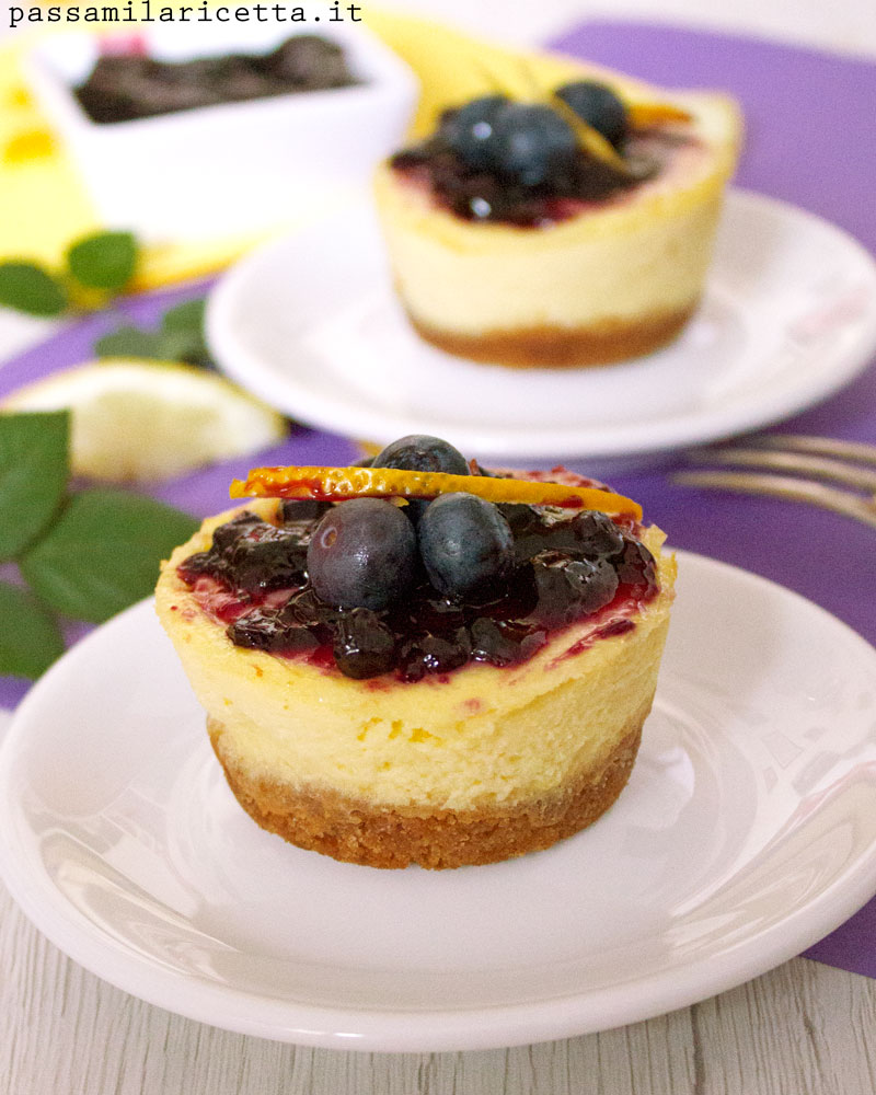 cheesecake mirtilli ricetta originale