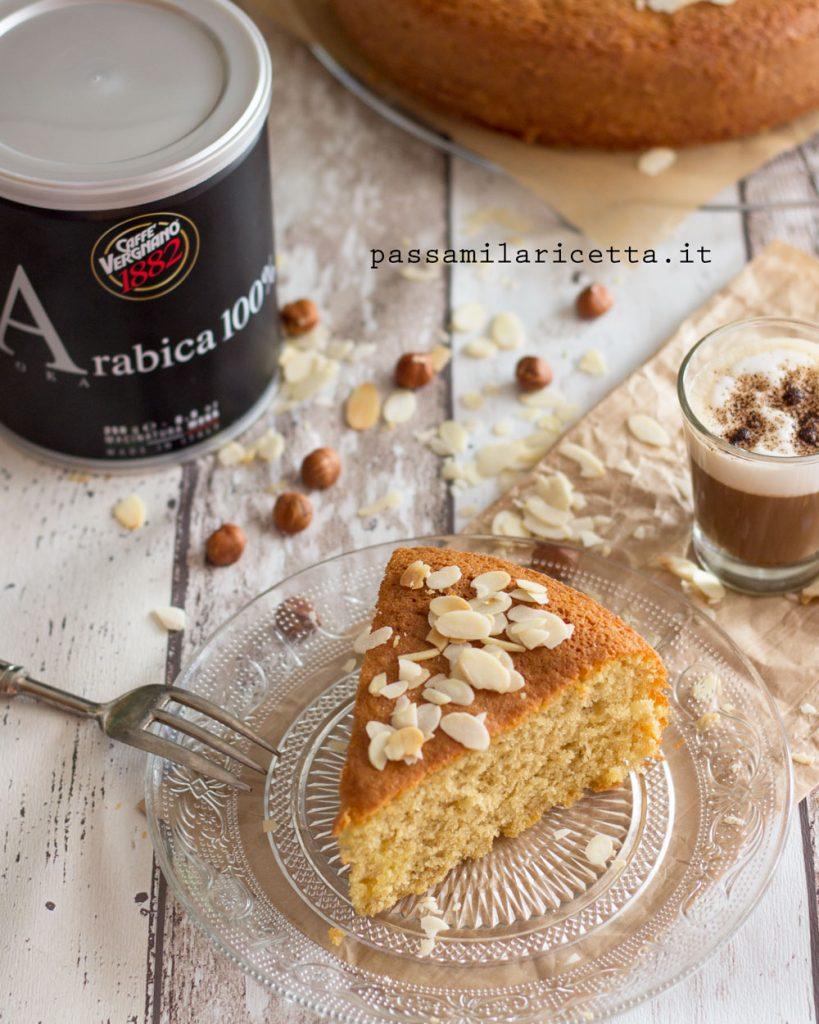 torta al latte caldo e caffè gusto cappuccino