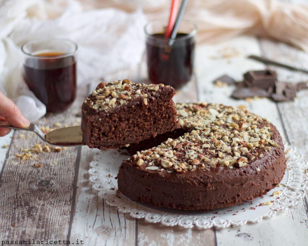 torta alla coca cola o pepsi dolce tipico americano
