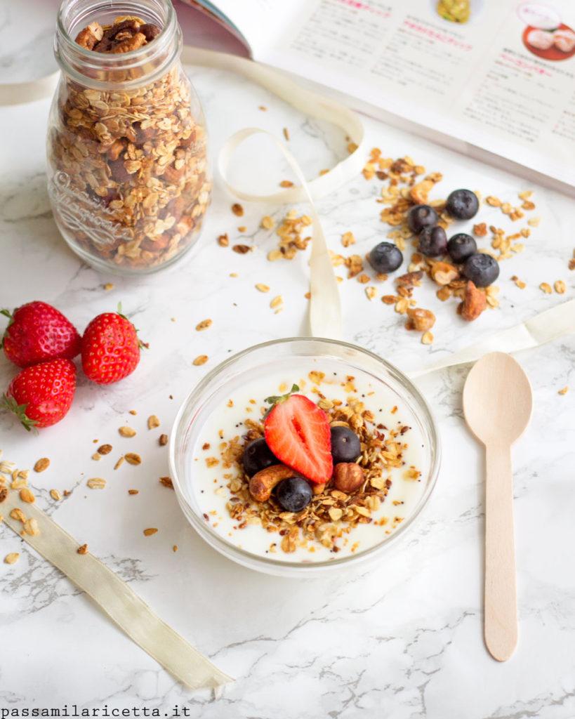 granola fatta in casa senza zucchero