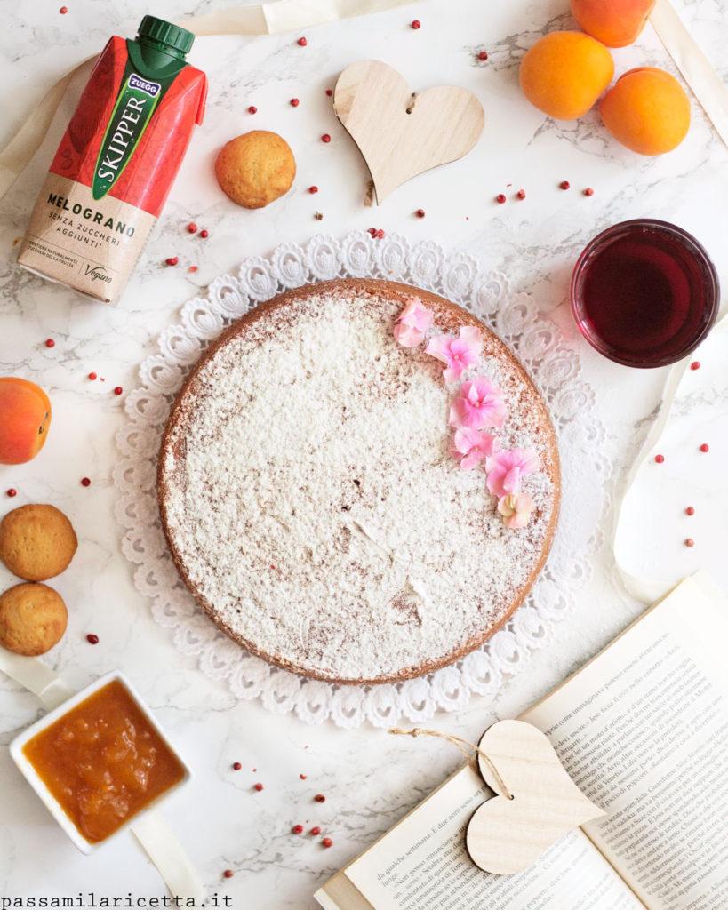 torta al succo di frutta senza burro e latticini