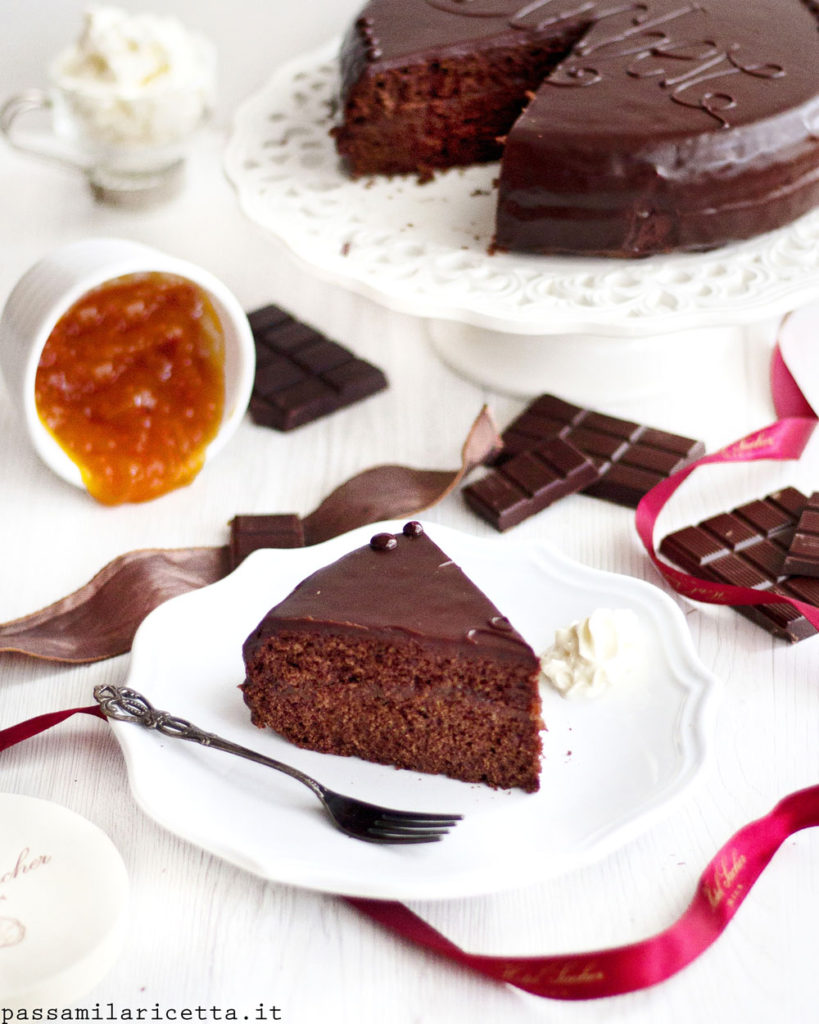 torta sacher ricetta sachertorte