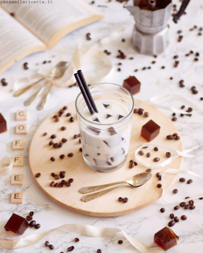 gelatina al caffè coffee jelly